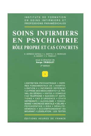 Soins infirmiers en psychiatrie 2 dition for Chambre de soins intensifs en psychiatrie